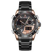 خرید                                     ساعت مچی عقربه ای مردانه نیوی فورس مدل NF9171M -RG-RG-B