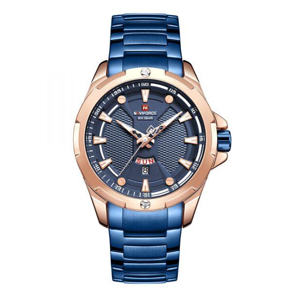 خرید                                     ساعت مچی عقربه ای مردانه نیوی فورس مدل  NF9161 RGBE