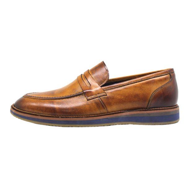 خرید                                     کفش روزمره مردانه چرم آرا مدل sh025
