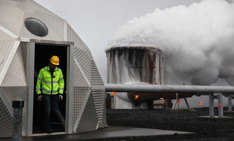 یک استارتاپ فناوری کربن موجود در هوا را به سنگ تبدیل میکند