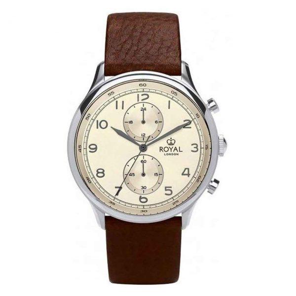 خرید                                     ساعت مچی عقربه ای مردانه رویال لندن مدل RL-41385-02