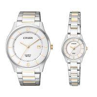 خرید                                     ست ساعت مچی عقربه ای سیتی زن مدل BD0048-80A - ER0201-72E