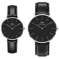 خرید                                     ست ساعت مچی عقربه ای زنانه و مردانه دنیل ولینگتون کد dw72