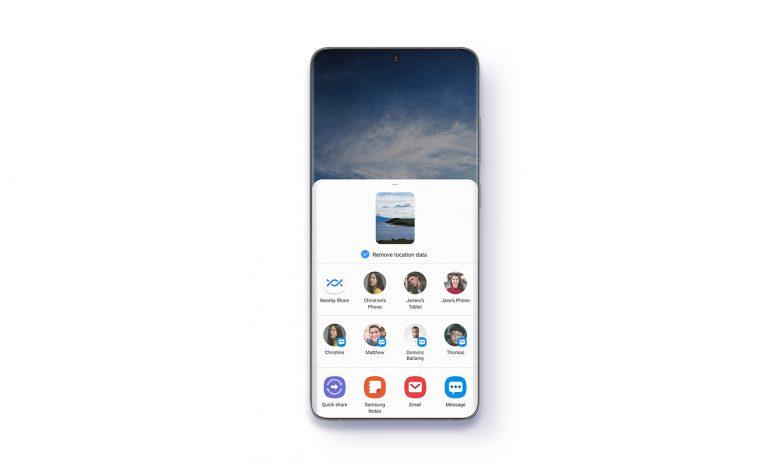 سامسونگ One UI 3.1 با تنظیمات پیشرفته نور آبی و عکس ها