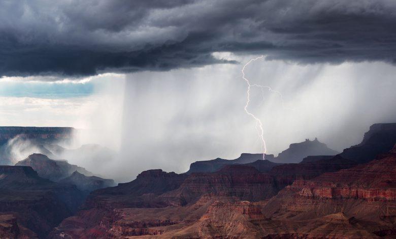 ابرهایی که میتوانند با خود میکروب ها را به مناطق بارشی وارد کنند