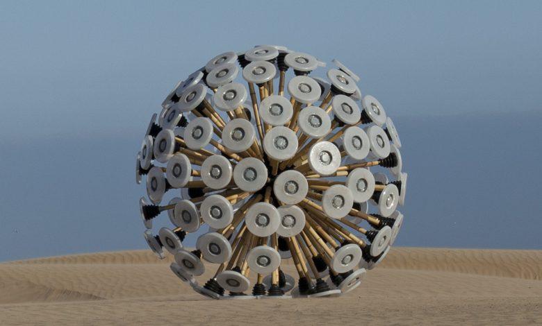 ساخت دستگاه پاکسازی مین شبیه به یک توپ
