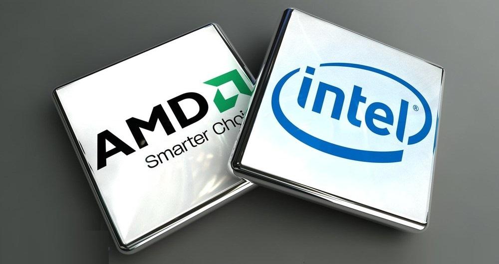 مقایسه پردازنده های اینتل و ای ام دی