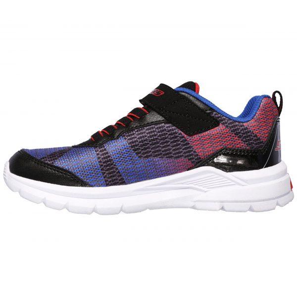 خرید                                     کفش مخصوص پیاده روی بچه گانه اسکچرز مدل  MIRACLE 90553L-BKRB