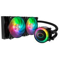 خرید                                     خنک کننده پردازنده کولر مستر مدل MASTERLIQUID ML240R RGB