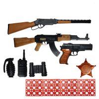 خرید                                     تفنگ بازی گلدن گان مدل naabsell-PA11 مجموعه 11 عددی