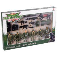 خرید                                     اسباب بازی جنگی مدل سرباز کد 0160 مجموعه 21 عددی