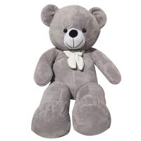 خرید                                     عروسک طرح خرس پاپیونی کد 6 ارتفاع 100 سانتی متر