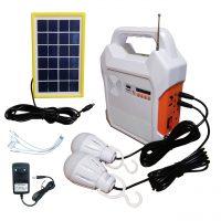 خرید                                     سیستم روشنایی و پاوربانک خورشیدی و اسپیکر کامیسیف مدل KM-915