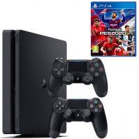 خرید                                     مجموعه کنسول بازی سونی مدل Playstation 4 Slim ریجن 2 کد CUH-2216A ظرفیت 500 گیگابایت