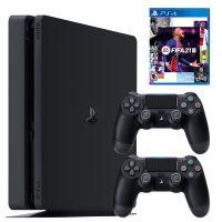 خرید                                     مجموعه کنسول بازی سونی مدل PlayStation 4 Slim ریجن ۳ کد CUH-2218B ظرفیت ۱ ترابایت به همراه بازی فیفا۲۱