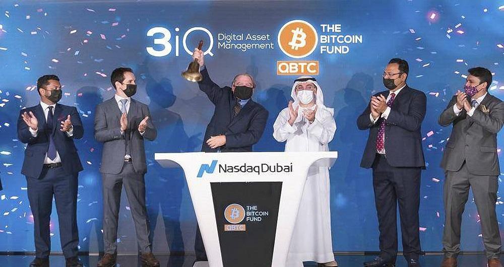 اولین صندوق بیت کوین در بازار سهام نزدک دبی راهاندازی شد!