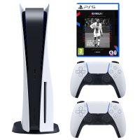 خرید                                     مجموعه کنسول بازی سونی مدل PlayStation 5 Drive ظرفیت 825 گیگابایت به همراه بازی فیفاPS5 21