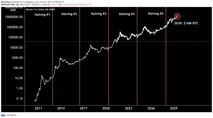 پیشیینی رشد بیت قیمت بیت کوین