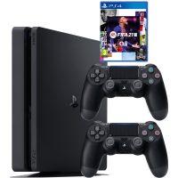 خرید                                     مجموعه کنسول بازی سونی مدل PlayStation 4 Slim CUH-2216A ظرفیت 500 گیگابایت به همراه بازی فیفا21