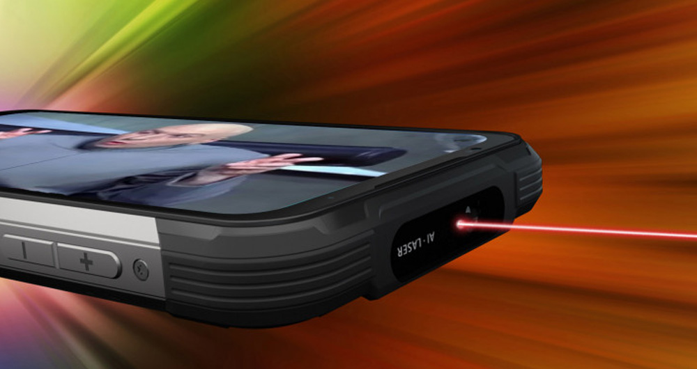 دوجی S97 Pro | راگ فون ارزانقیمت با اشعه لیزری و باتری بسیار قدرتمند