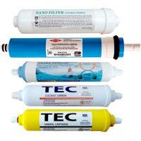 خرید                                     فیلتر دستگاه تصفیه کننده آب مدل FTN-5A مجموعه  5 عددی
