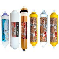 خرید                                     فیلتر تصفیه کننده آب  مدل REFILL - AC6Q مجموعه 6 عددی
