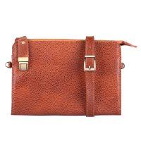 خرید                                     کیف دستی چرم ماکان مدل آیسل کد ICEL-sh1