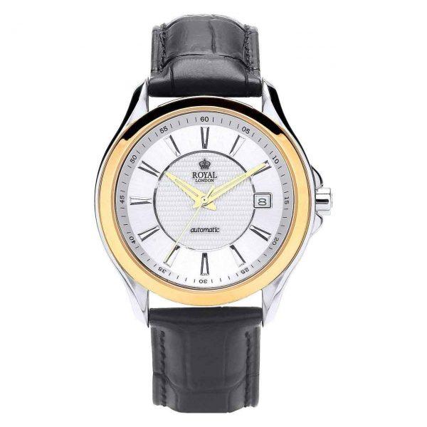 خرید                                     ساعت مچی عقربه ای مردانه رویال لندن مدل RL-41176-03