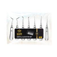 خرید                                     ست الواتور دندانپزشکی گلدن بیوتی مدل X7 بسته ۷ عددی