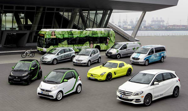 Daimler-tops-Germany-in-Electric-Cars-for-first-half-2013