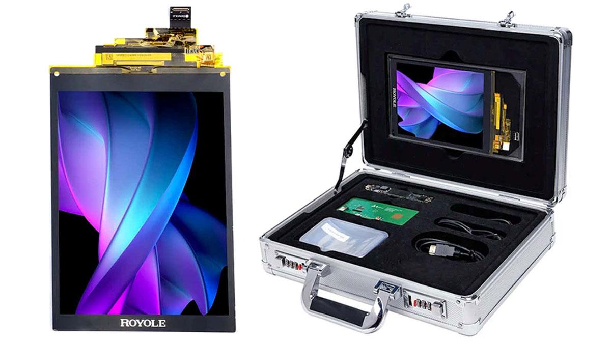 شرکت Royole از کیت توسعه موبایل توسط کاربران با نمایشگر تاشو رونمایی کرد