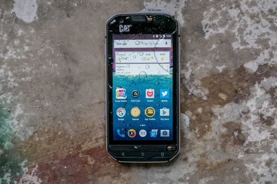 اپلیکیشنی که مقاومت در برابر نفوذ آب به موبایل را مجازی میسنجد