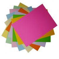 خرید                                     کاغذ رنگی A4 مدل رنگین کمان کد X10 بسته 100 عددی