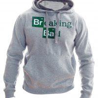 خرید                                     هودی مردانه به رسم طرح برکینگ بد کد 194
