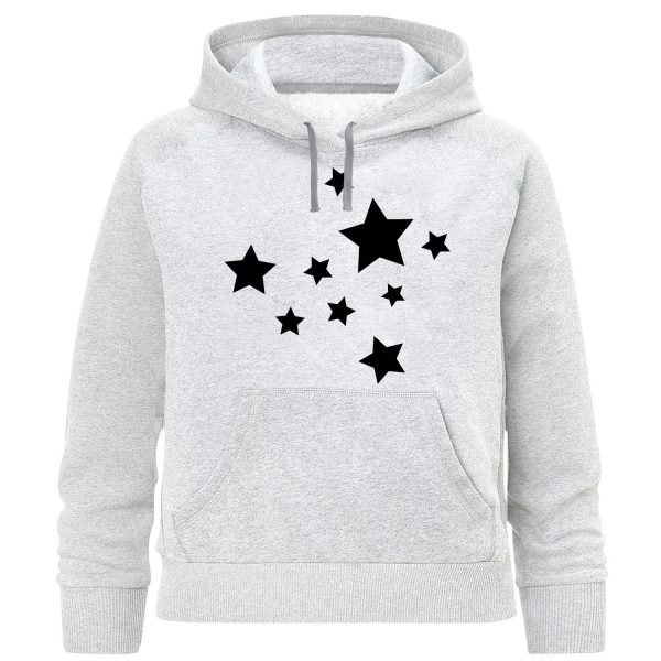 خرید                                     هودی دخترانه طرح ستاره کد K196
