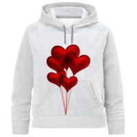 خرید                                     هودی دخترانه طرح بادکنک قلب کد F305