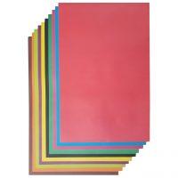 خرید                                     مقوا رنگی کد 102 سایز 50x70 سانتی متر بسته 10 عددی