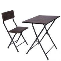 خرید                                     میز و صندلی تحریر تاشو و تنظیم شو سپهر یاس قهوه ای