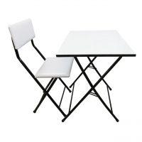 خرید                                     میز و صندلی تحریر سپهر یاس سفید مدل 002