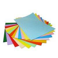 خرید                                     کاغذ رنگی A4 سیتی پیپر 13 رنگ  کد 1013بسته 104 برگی سایز 104 برگ