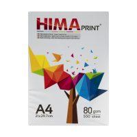 خرید                                     کاغذ A4 هیما کد H01 بسته 500 عددی