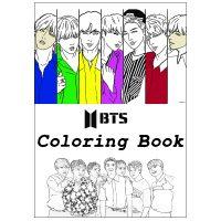 خرید                                     دفتر رنگ آمیزی گیلدا مدل بی تی اس BTS کد ART-105