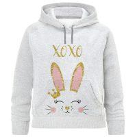 خرید                                     هودی دخترانه طرح خرگوش کد F531