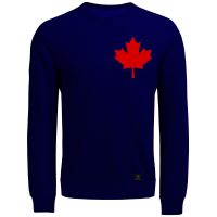 خرید                                     سویشرت مردانه 27 مدل کانادا کد J13 رنگ سرمه ای