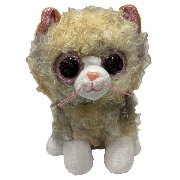 خرید                                     عروسک تی وای طرح گربه ارتفاع 10 سانتی متر